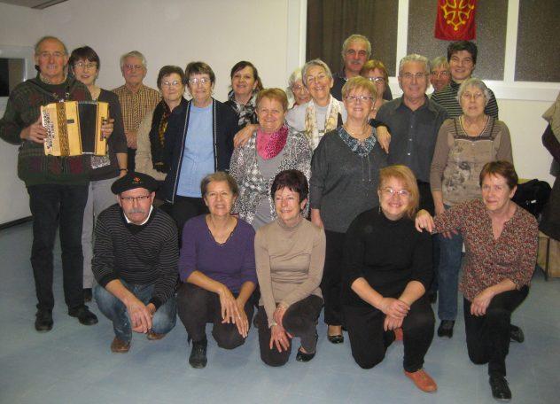 le groupe avec l'animatrice madame Pons Maryvonne