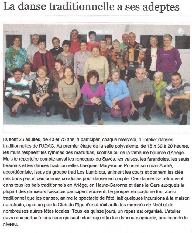 Atelier de danses occitanes