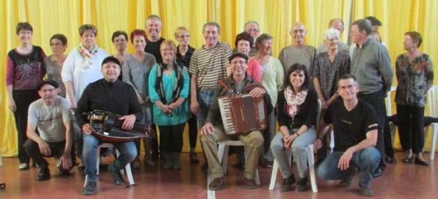 Stagiaires musiciens et profs